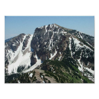 Deseret Peak - 11,031 feet; Stansbury Mountains Poster