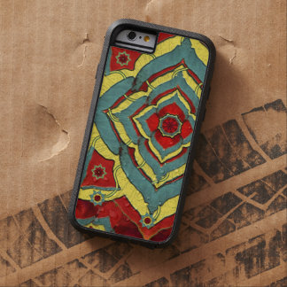 Desert Autumn Reds Mandala iPhone6 Case