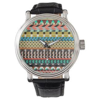Desert Aztec Pattern Watches