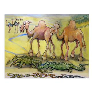 Desert Beasts Postcard