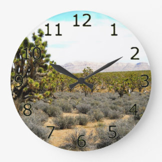 Desert Beauty Large Clock