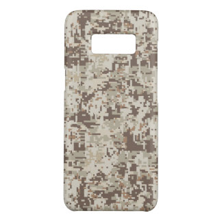 Desert Beige Digital Camouflage Decor on a Case-Mate Samsung Galaxy S8 Case