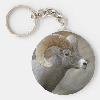 Desert Bighorn Ram Keychain