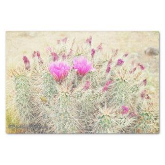 desert blooms tissue paper