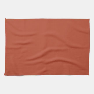 Desert Brick Colour Hand Towels
