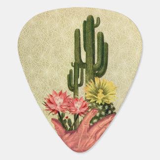 Desert Cacti Handled Delicately Guitar Pick