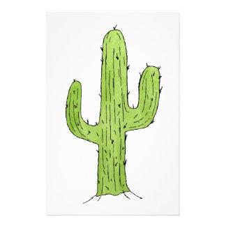 Desert Cactus Design Stationery