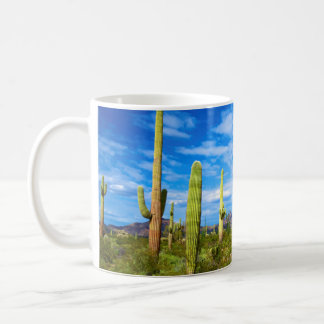Desert cactus landscape, Arizona Coffee Mug