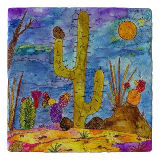 Desert CactusTrivet Trivet