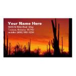 Desert Calling Card Pack Of Standard Business Cards