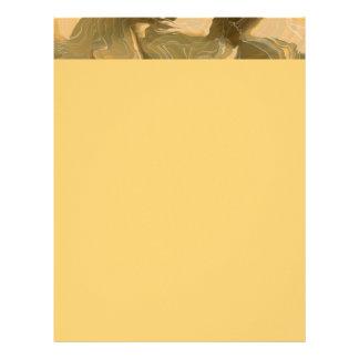 Desert Cammo Design Customized Letterhead