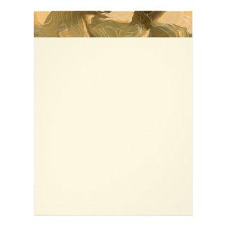 Desert Cammo Design Letterhead
