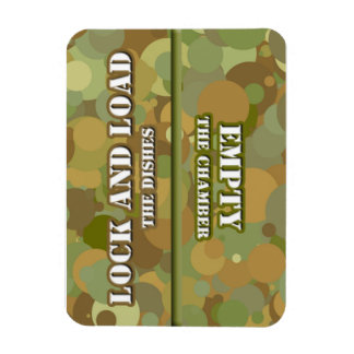 Desert Camo Lock n Load Dishwasher Magnet