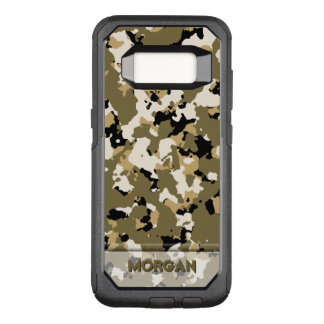 Desert Camo Name Template OtterBox Commuter Samsung Galaxy S8 Case