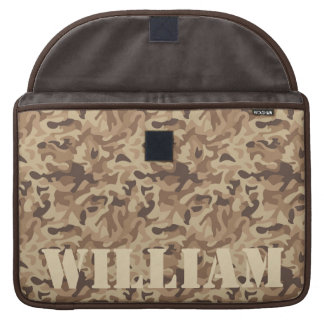 Desert Camo Sleeve For MacBooks