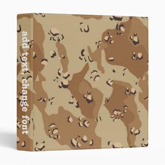 Desert Camouflage (1) Binders