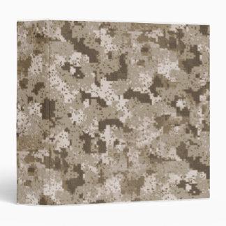 Desert Camouflage Binder