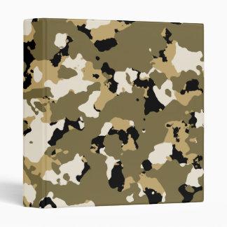 Desert Camouflage Pattern Binders