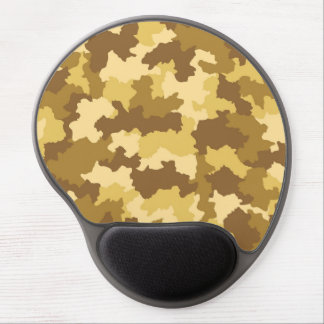 Desert Camouflage Pattern Gel Mouse Pad