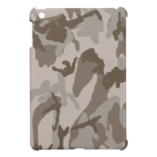 Desert camouflage pattern iPad mini cover
