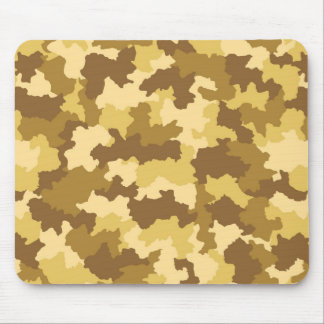 Desert Camouflage Pattern Mouse Pad
