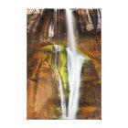 Desert Cascade Canvas Print