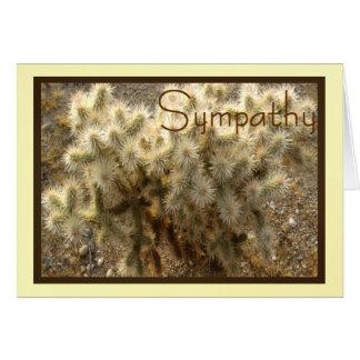 Desert Cholla  Sympathy Card for Anyone