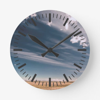 Desert clouds clocks