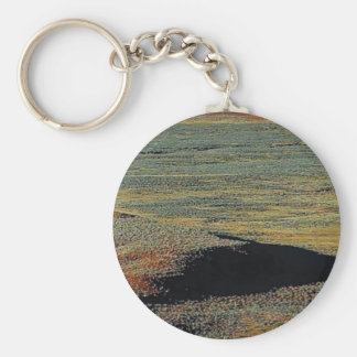 desert color blends keychain