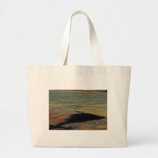desert color blends large tote bag