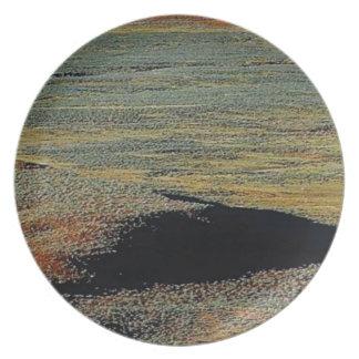 desert color blends plate