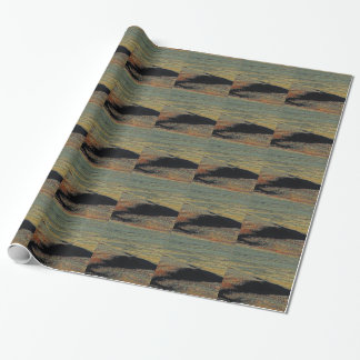 desert color blends wrapping paper
