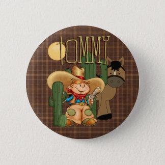 Desert Cowboy 2 Inch Round Button