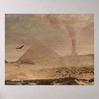Desert Cyclone 16x20 Poster