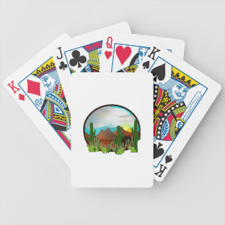 Desert Daydreams Bicycle Playing Cards