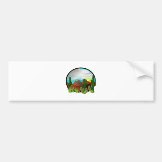Desert Daydreams Bumper Sticker