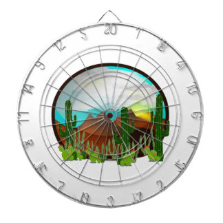 Desert Daydreams Dartboard
