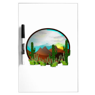 Desert Daydreams Dry Erase Board