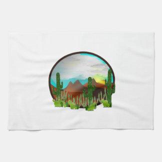 Desert Daydreams Kitchen Towel