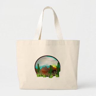 Desert Daydreams Large Tote Bag