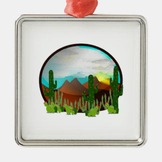 Desert Daydreams Metal Ornament