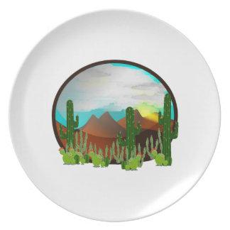 Desert Daydreams Plate