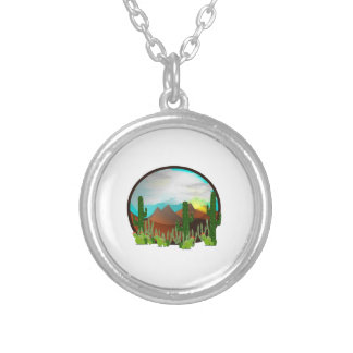 Desert Daydreams Silver Plated Necklace