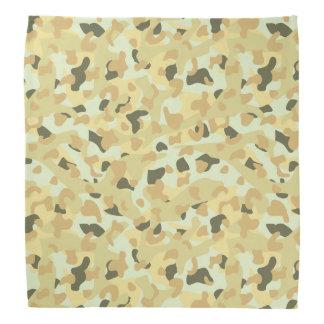 Desert disruptive camouflage bandana