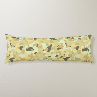 Desert disruptive camouflage body pillow