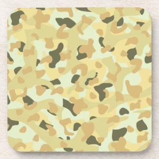 Desert disruptive camouflage coaster