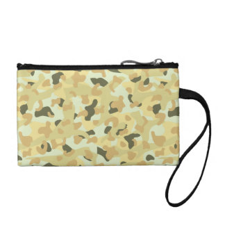 Desert disruptive camouflage coin purse