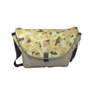 Desert disruptive camouflage courier bag