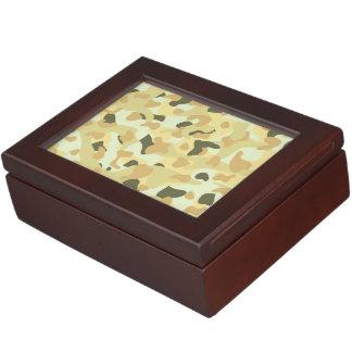 Desert disruptive camouflage keepsake box