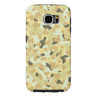Desert disruptive camouflage samsung galaxy s6 cases